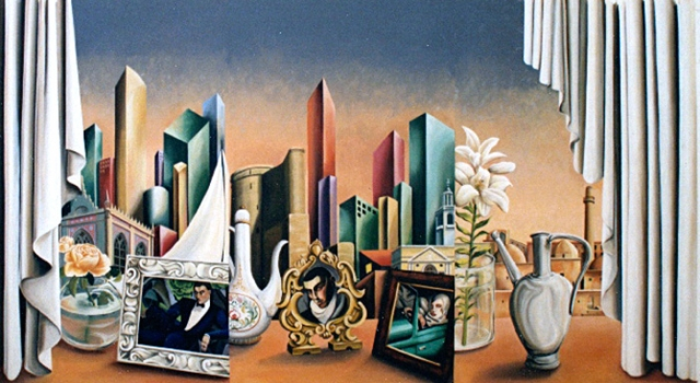 Mural for the casino at the Hyatt Regency Hotel, Azerbaijhan.