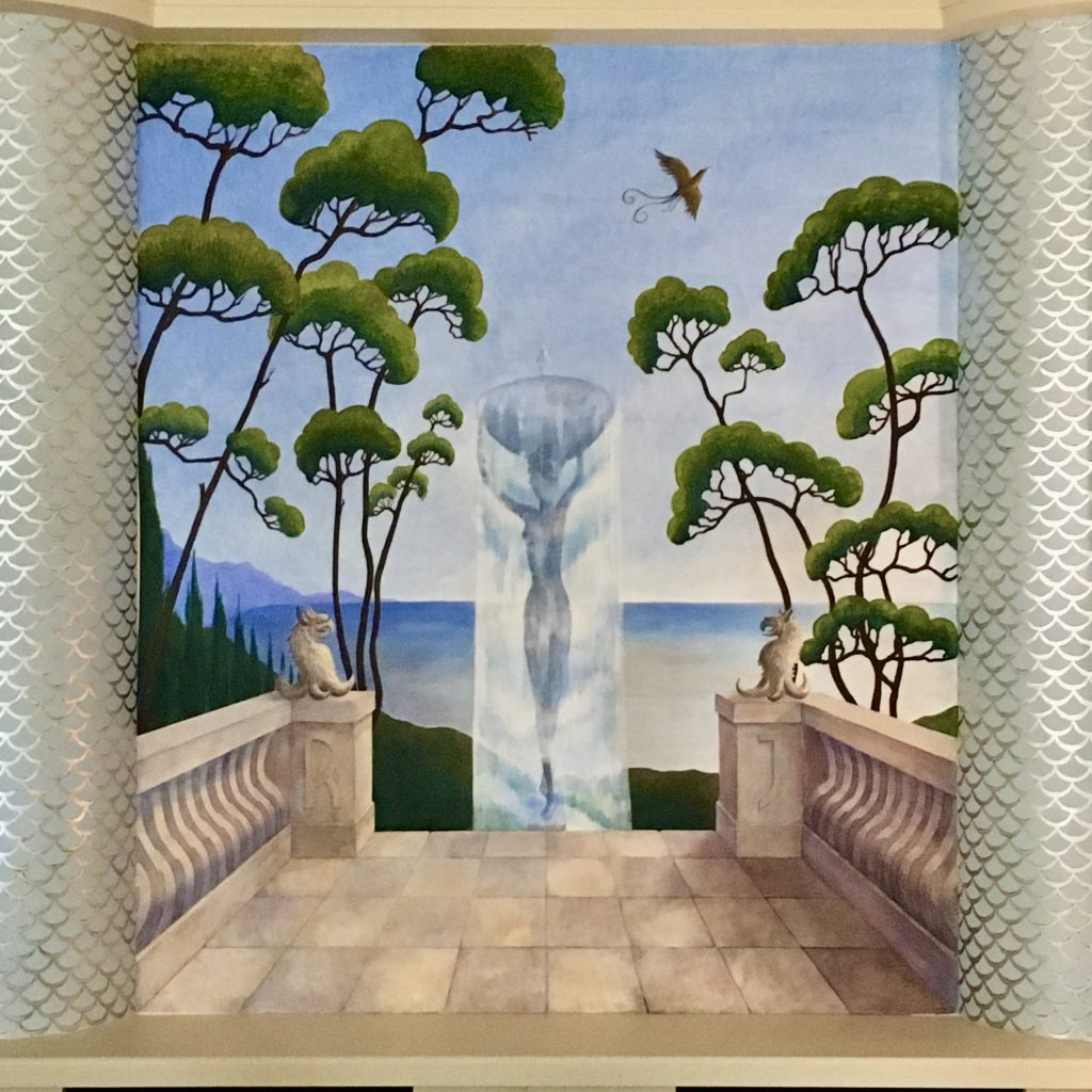 Art Deco mural for a private house